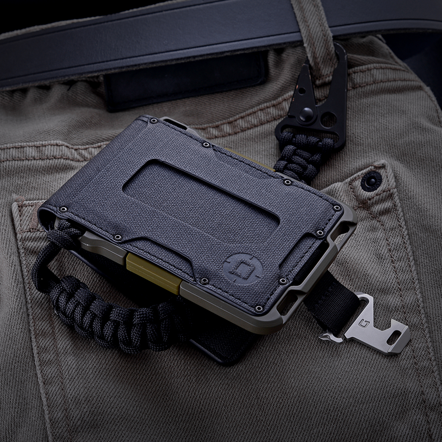 DANGO - M1 MAVERICK BIFOLD WALLET - SPEC-OPS - 4 POCKET DTEX - FEVERGUY