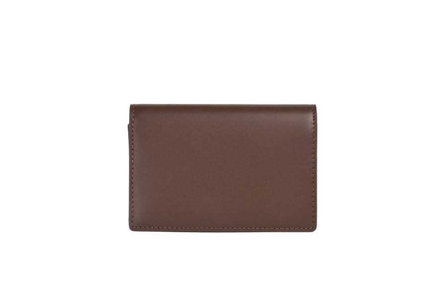 Faire Leather Co. - Specter Business Cardholder | VT Dark Brown - FEVERGUY