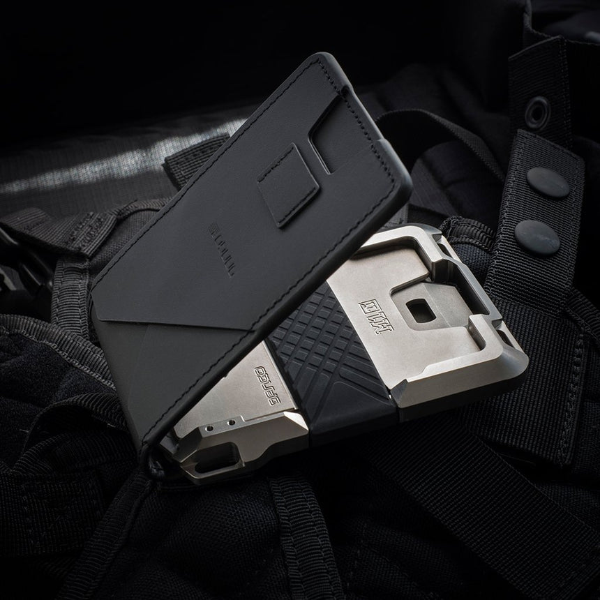 DANGO - M1 Maverick Tactical Wallet | Bifold Titanium
