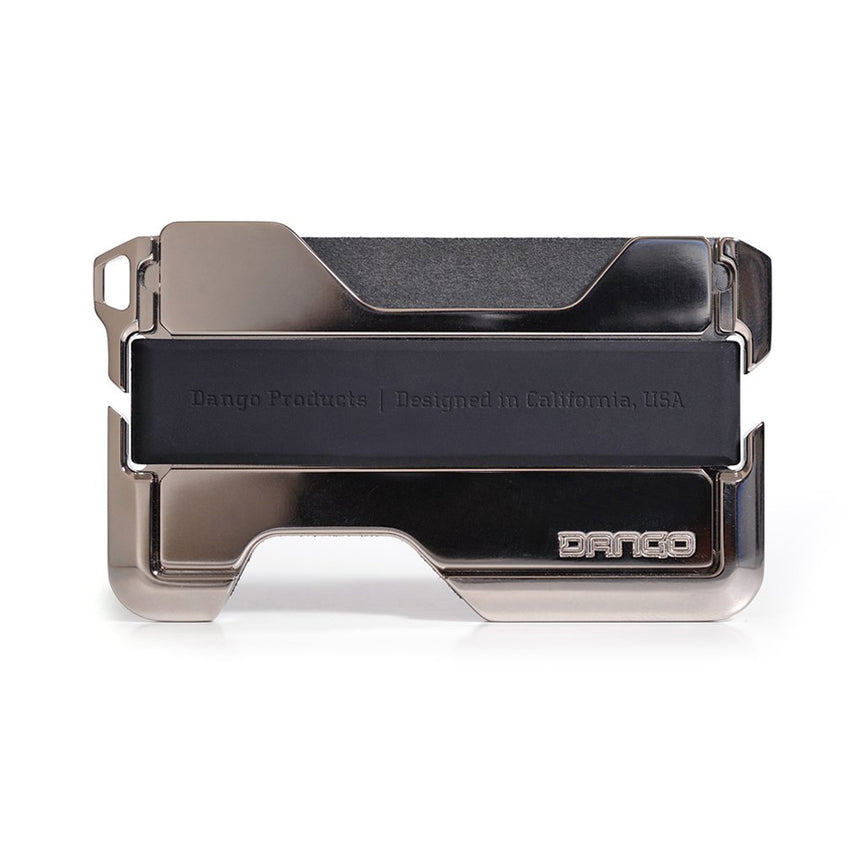 DANGO - D02 Dapper Wallet | Jet Black