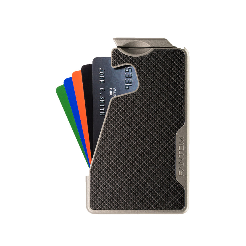 Fantom R Wallet | Black Diamond Leather