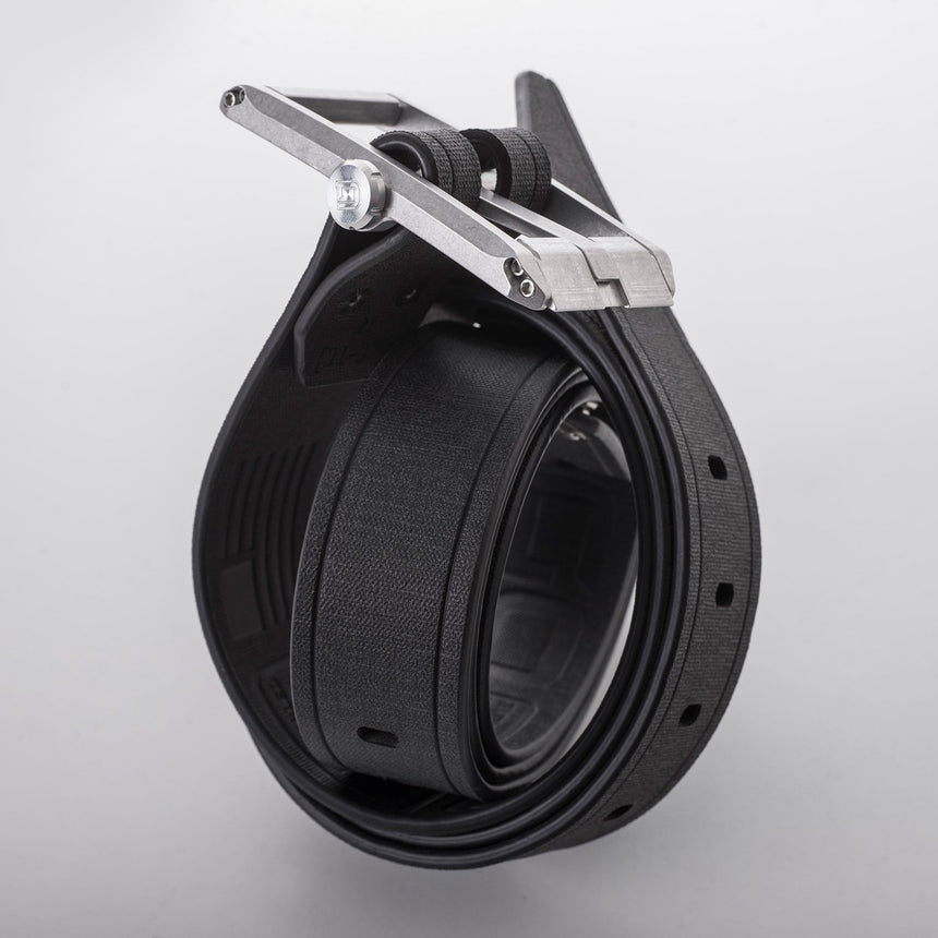 DANGO - Belt | Jet Black Leather