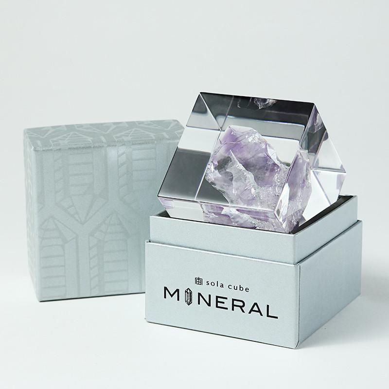 SOLA CUBE - ROCK CRYSTAL - FEVERGUY