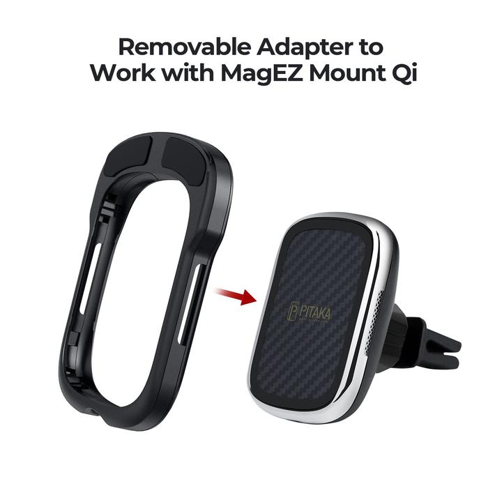 PITAKA - MagEZ Mount Qi Adapter | S20 Ultra / Note 20 Ultra
