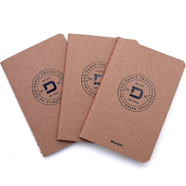 DANGO - PEN WALLET NOTEBOOKS REFILL (3PACK)