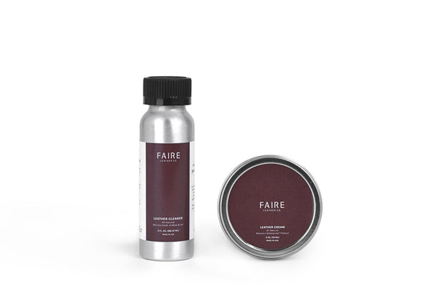FAIRE - LEATHER CARE KIT
