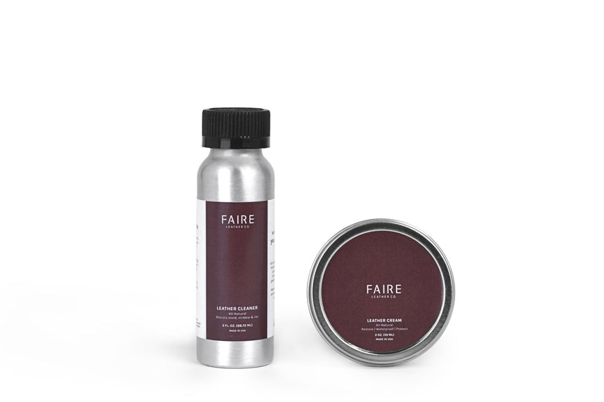Faire Leather Co. - Leather Care Kit - FEVERGUY