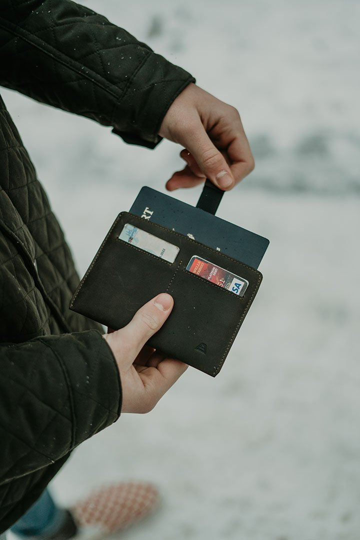 ANDAR - The Atlas Passport Wallet - FEVERGUY