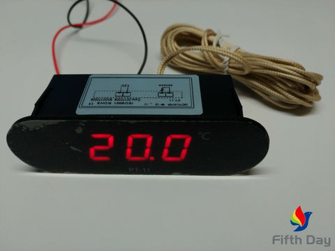 Digital LED Temperature Indicator