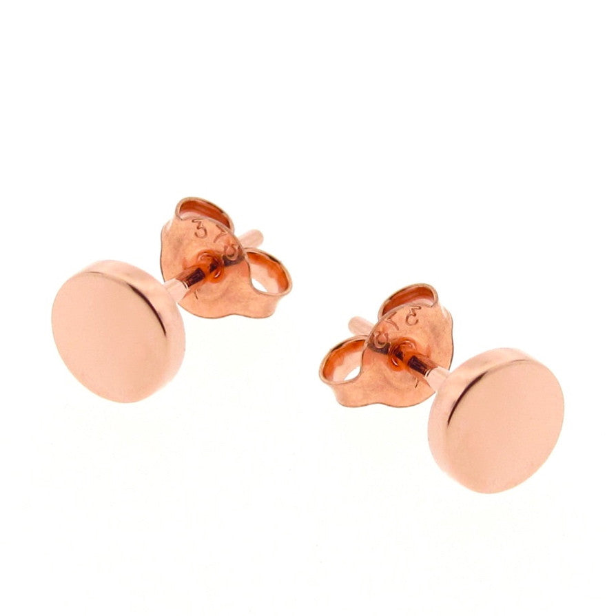 Rose Gold 'Eclipse' stud Earrings