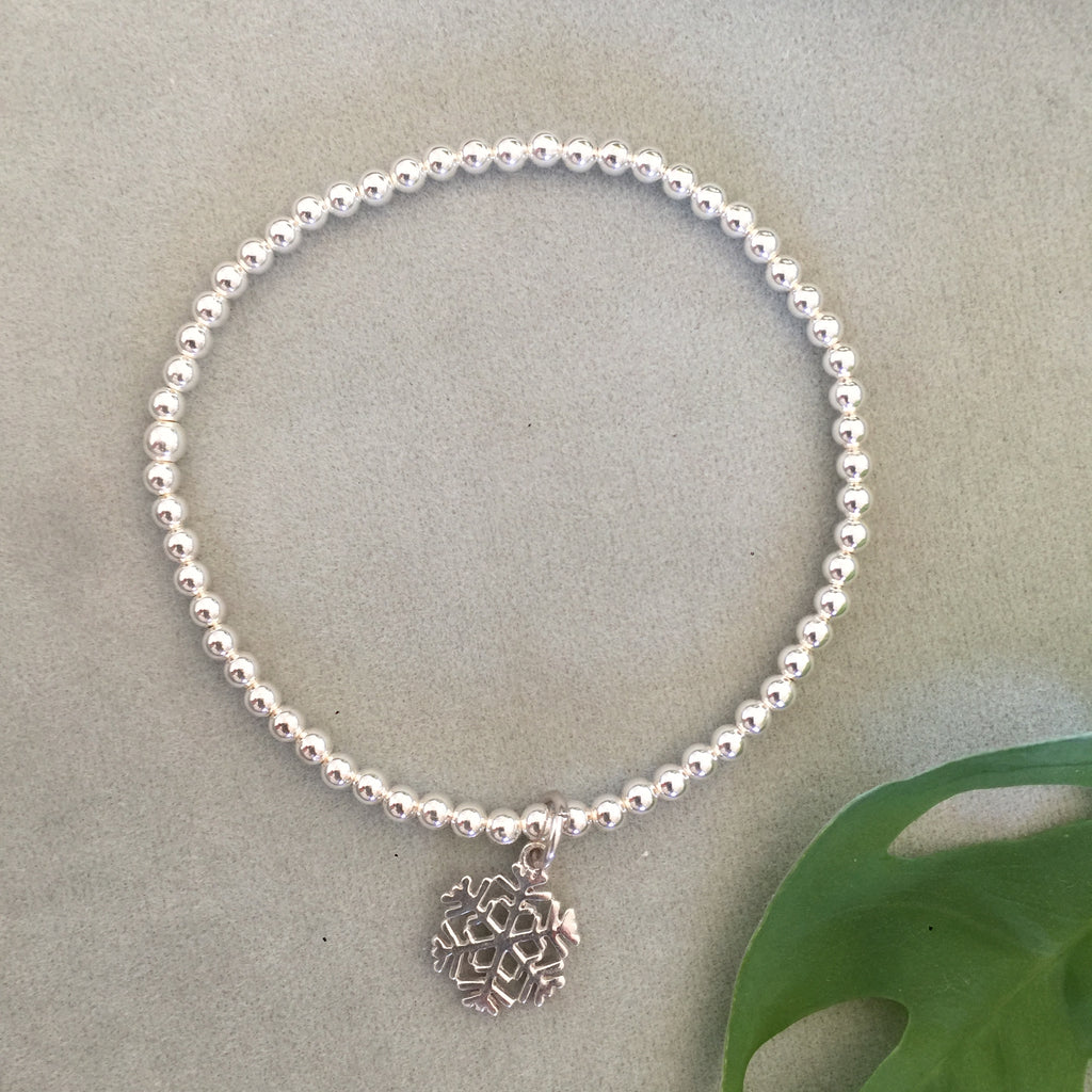sterling silver bead Bracelet 5 options