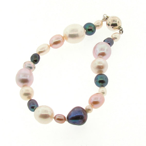 Multi coloured 'Tears from the Moon' Bracelet