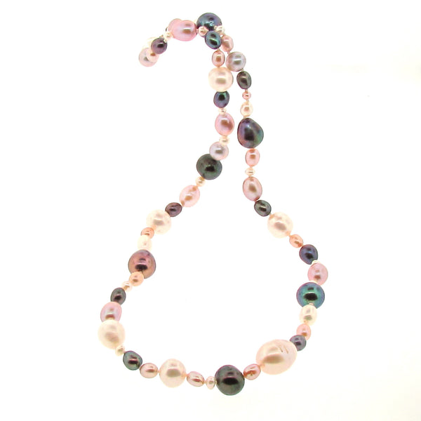 Multi Coloured 'Tears from the Moon' Necklace