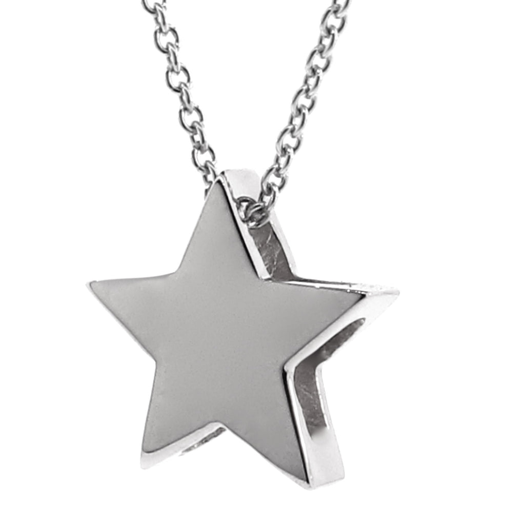 Silver Medium Star Pendant