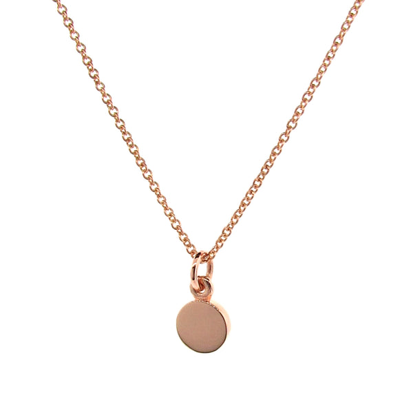 Rose Gold Small Eclipse Pendant