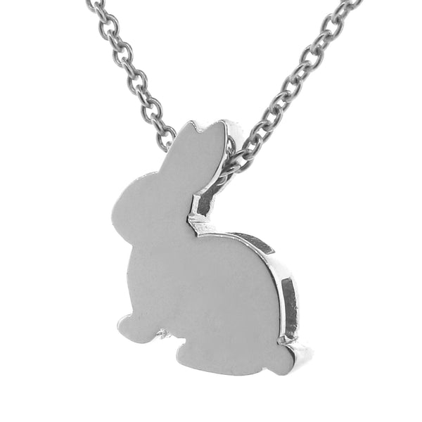 Sterling Silver Big Bunny Pendant