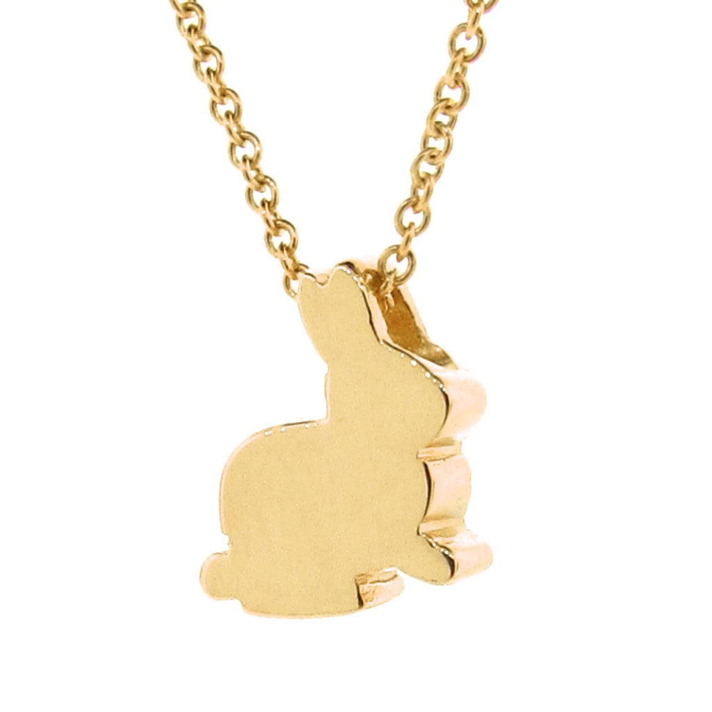 Yellow Gold  'Baby Bunny' Pendant