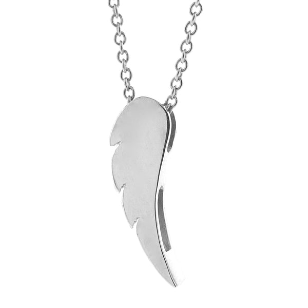 Sterling Silver Wing Pendant, Necklace or Anklet