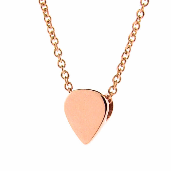 Rose Gold Baby Lotus Petal Pendant or Necklace