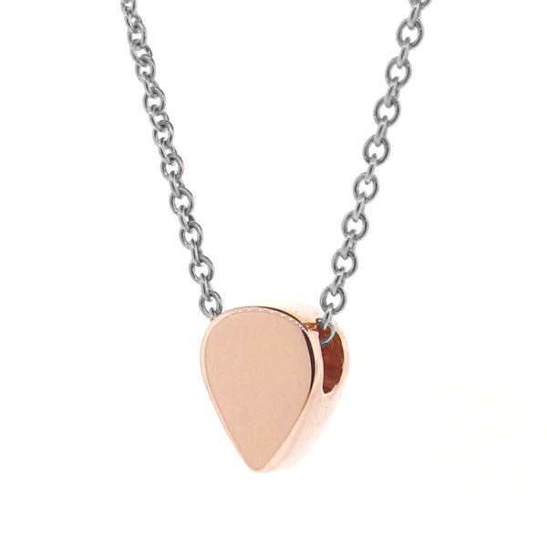 Rose Gold and silver Baby Lotus Petal Necklace or Anklet