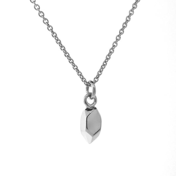 Sterling Silver Small Crystal Pendant, Necklace or Anklet
