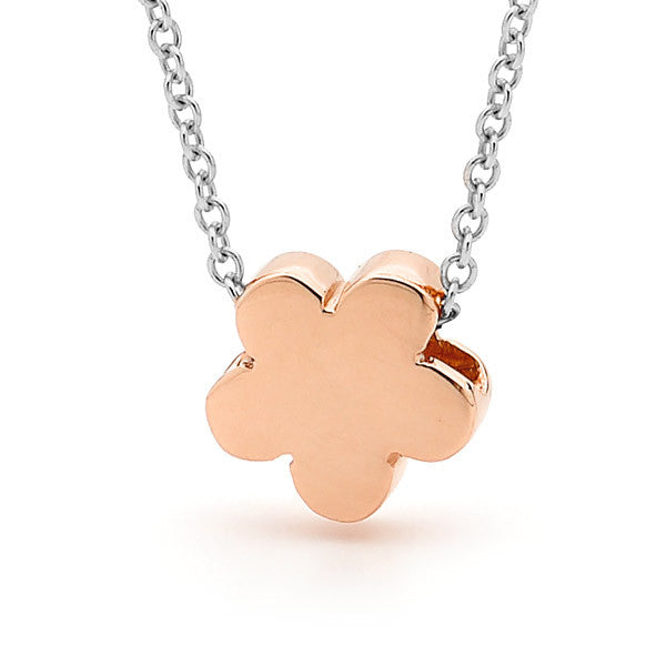 Rose Gold and silver 'Baby Blossom' Necklace or Anklet