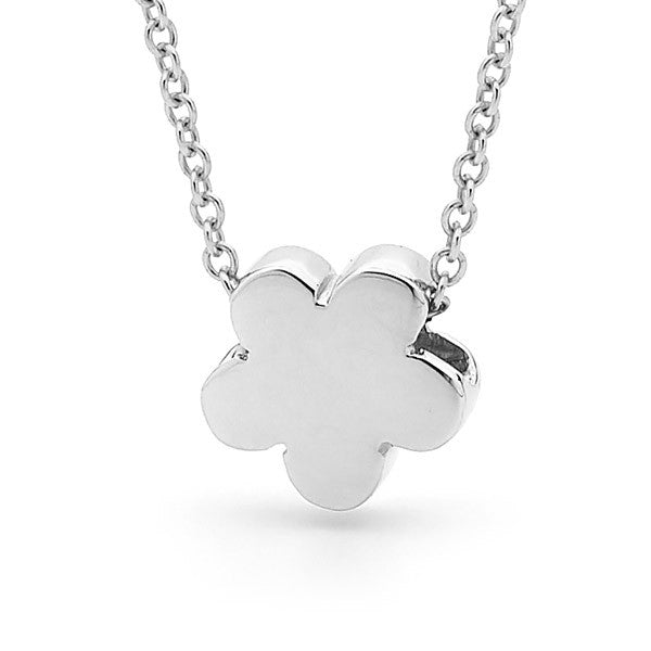 Sterling Silver 'Baby Blossom' Pendant, Necklace or Anklet