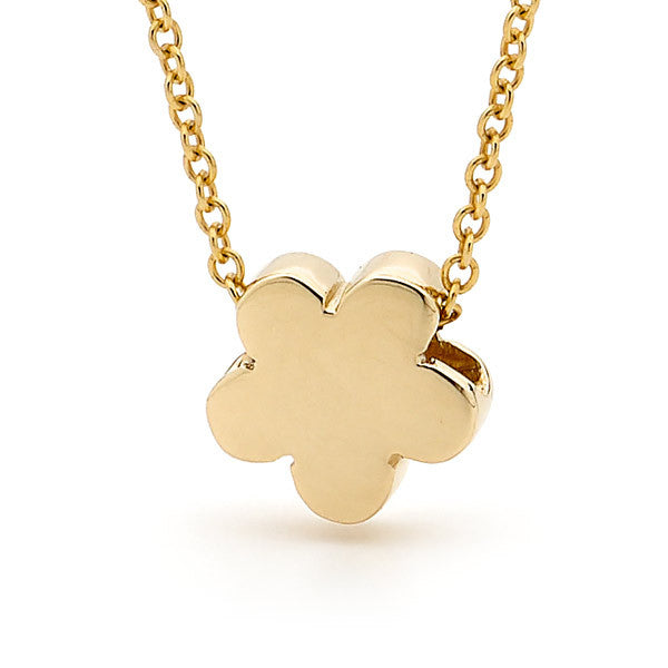 Yellow Gold 'Baby Blossom' Pendant