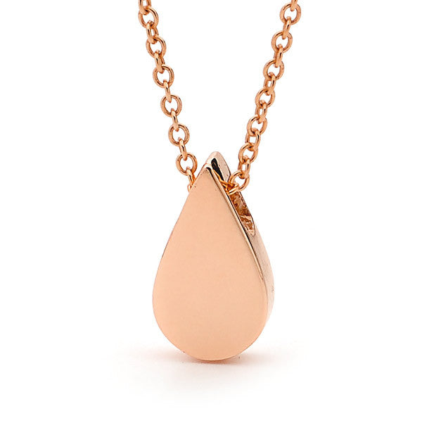 Rose Gold 'Baby Drop' Pendant