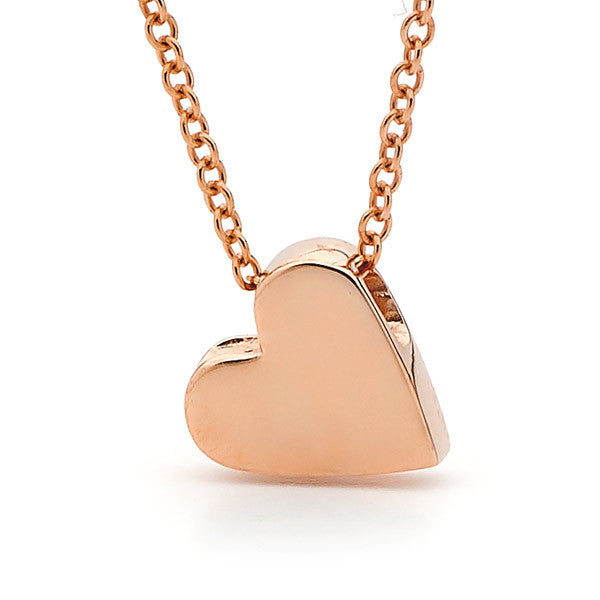 Rose Gold Baby Heart Pendant