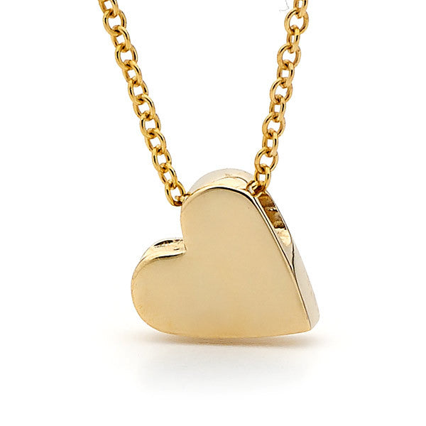 Yellow Gold 'Baby Heart' Pendant