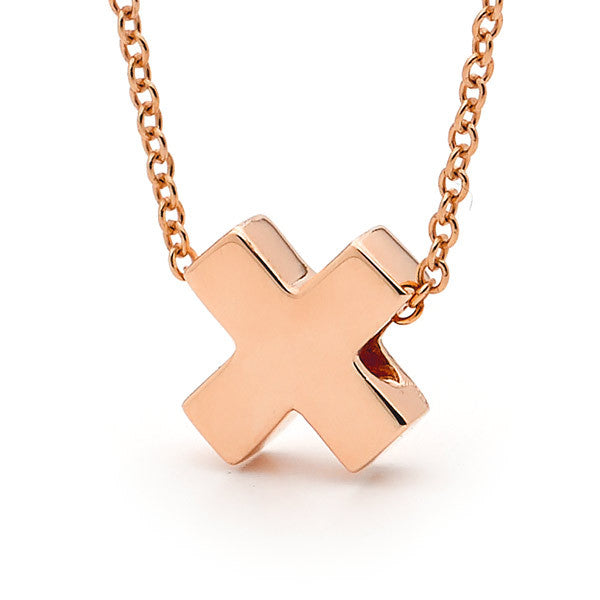 Rose Gold 'Baby Kiss' Pendant