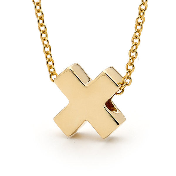 Yellow Gold 'Baby Kiss' Pendant