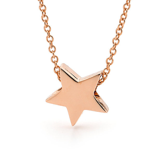 Rose Gold Baby Star Pendant