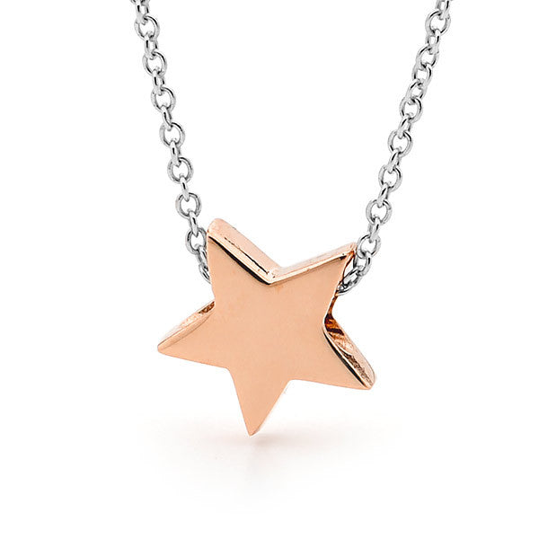 Rose Gold and silver 'Baby Star' Necklace or Anklet