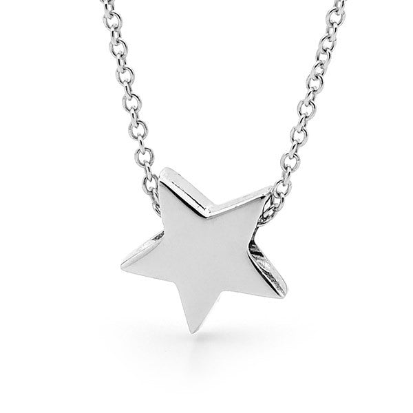 Sterling Silver Baby Star Pendant, Necklace or Anklet