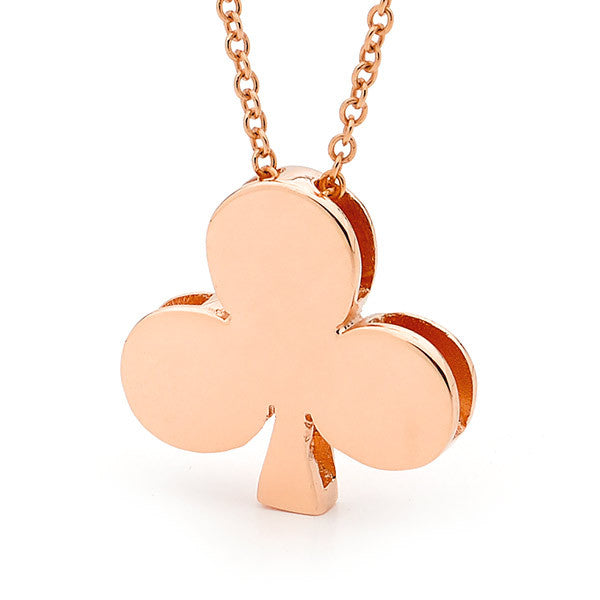Rose Gold Club Pendant