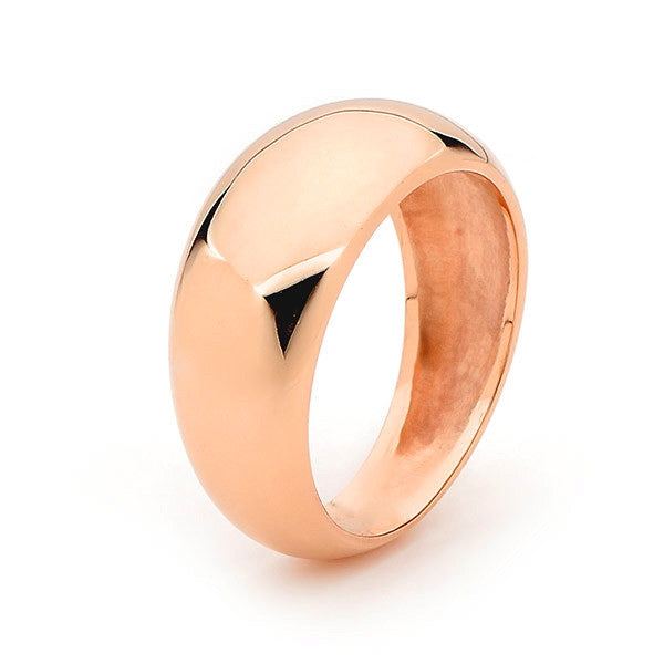 Rose Gold 'Eclipse' Ring