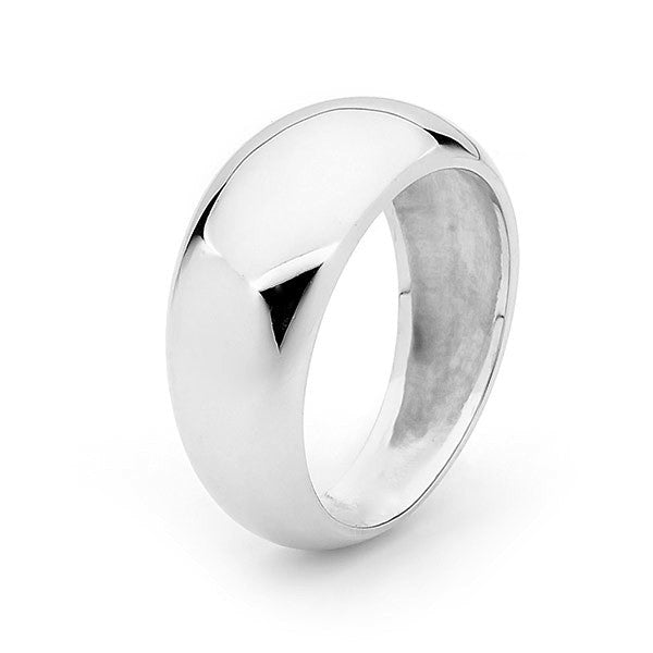 White Gold Eclipse Ring