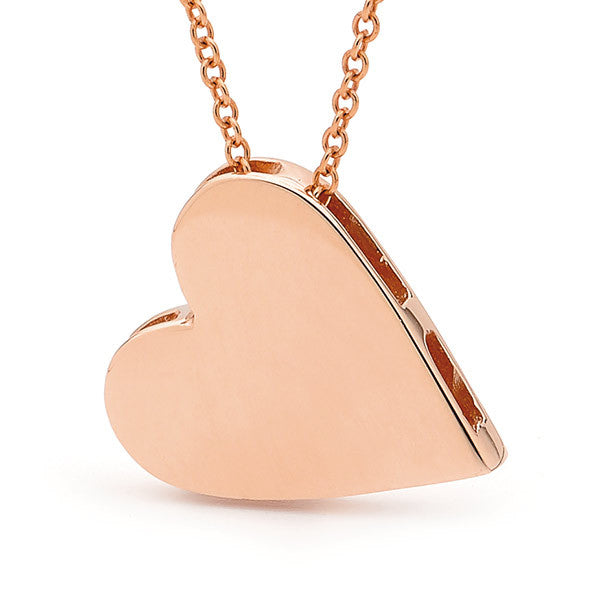 Rose Gold 'Heart' Pendant