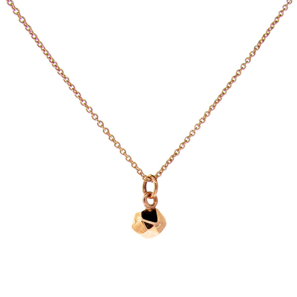 Rose Gold Small Chubby Crystal Pendant
