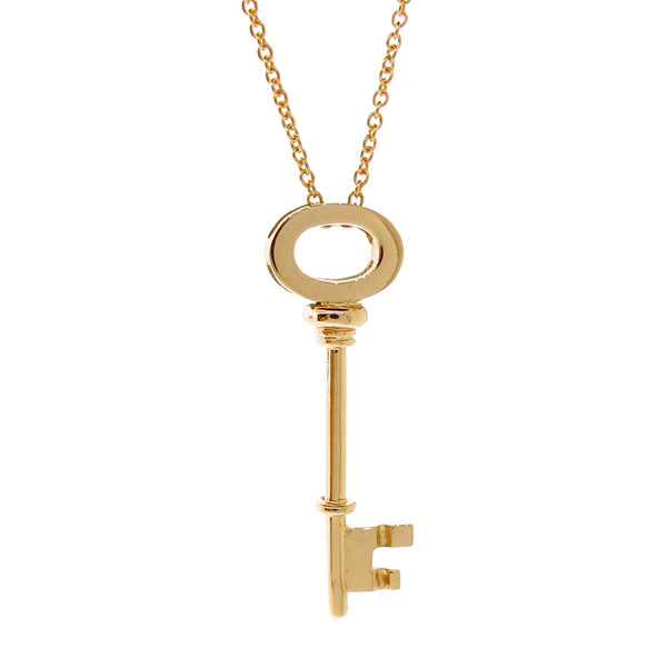 Yellow Gold Key Pendant