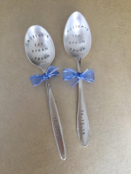 Kilian & Adrien's ice cream spoon