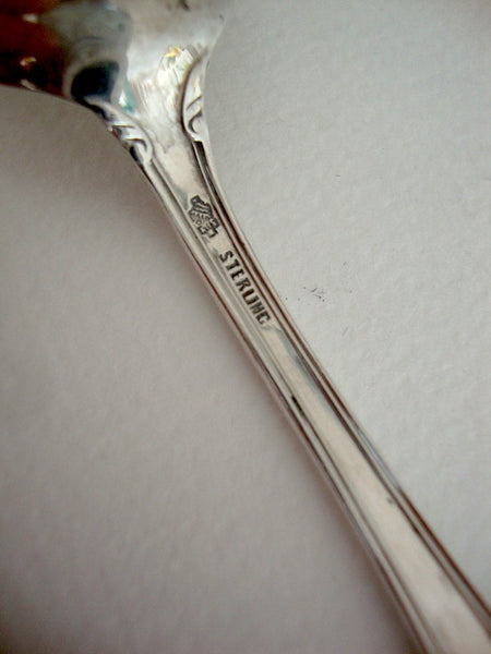 Sterling silver teaspoon