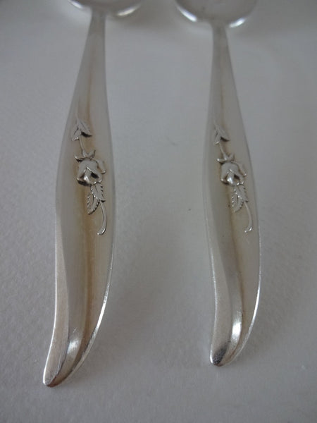 Pair of serving spoons