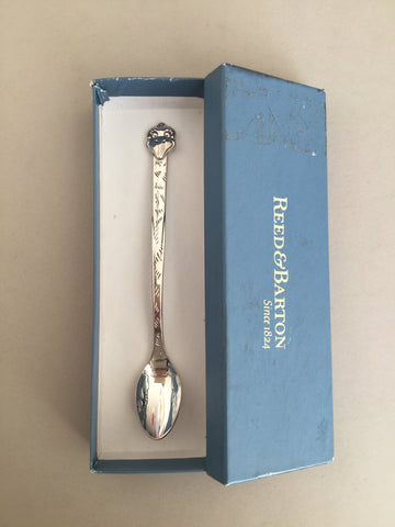 .Baby Ostrich spoon in original box