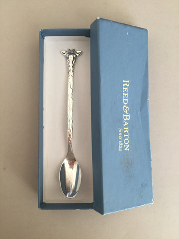 .Baby Giraffe spoon in original box