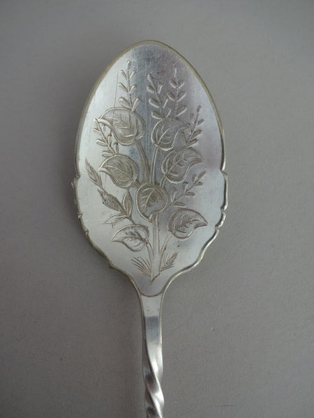 .Beautiful OLD spoon (late 1800's)