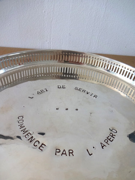 Serving tray - large - round