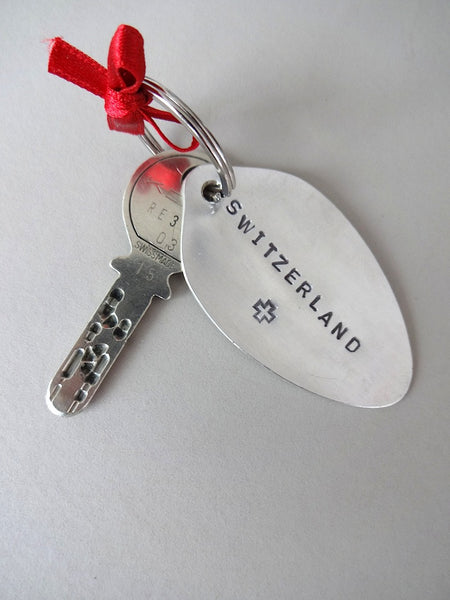 Switzerland key ring